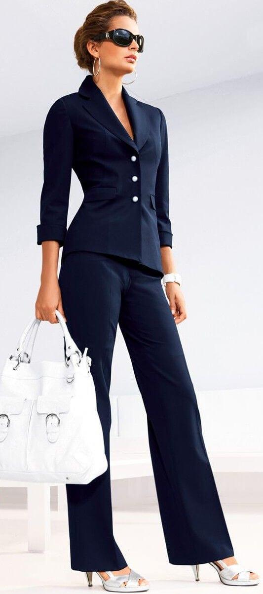 базовый гардероб для женщины 30 лет - деловой образ