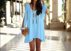 17 стильных образов с коротким платьем