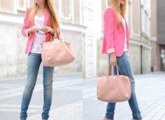 С какими цветами сочетается розовый цвет в одежде?