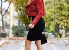 С чем носить кожаную куртку косуху женщине за 40 лет?