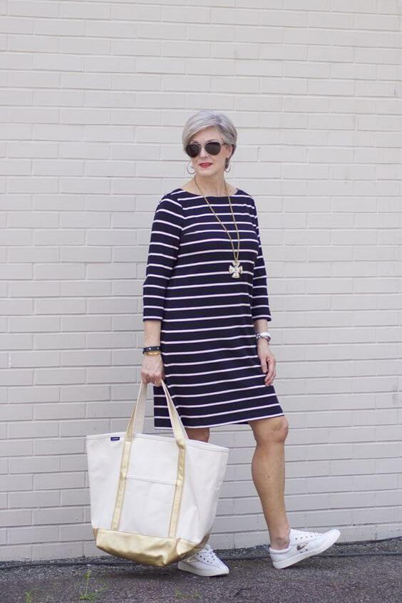 Мода для женщин за 60 лет на лето 2019