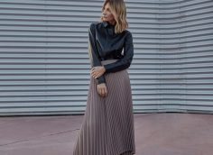 Как носить длинную юбку, чтобы выглядеть шикарно