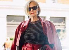 Мода для женщин за 60 лет на зиму 2020