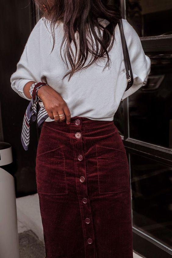 Модели юбок для женщин 50 лет